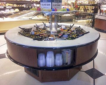 Custom Millwork From Salad Bars Dry Bakery Fixtures