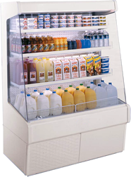 New self-contained Upright Merchandiser