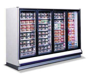 New Remote Frozen Food/Ice Cream Door Case